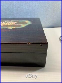 200 capacity H UPMANN HUMIDOR FABRICA de Tabacos Collectors Cuba cigar box VTG