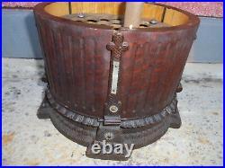 29985 Antiker Original Zigarren Schrank Jugendstil Cigar case vint 1900 temple