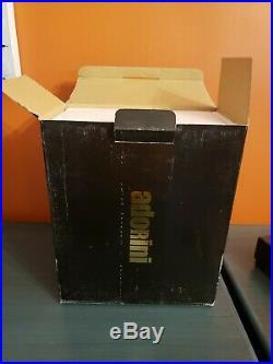 ADORINI CARRARA GRANDE DELUXE BLACKSuperior Quality HUMIDOR fits 150 Cigars