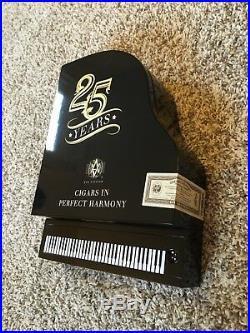 AVO Black Piano Box Humidor 25 Years Anniversary Limited Edition