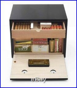 Adorini Habana Deluxe 550 Cigar Humidor with Boveda