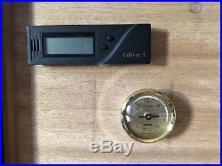 Adorini Torino Deluxe Humidor, Cutter, Scissors, Hygrometer, Terence Conran Case