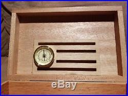 American Chest Americana Rustic Solid Mahogany 75 Cigar Humidor