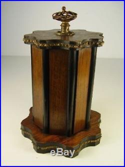 Antiker Gründerzeit Zigarren Schrank / Humidore um 1880