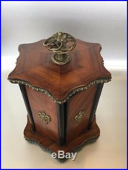 Antique 19. Th Century French Humidor Cigar Box
