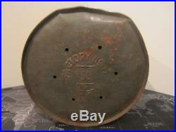 Antique 1920's War Eagle Cigar Tin Humidor Can 2 For 5 Cents Factory 17 Virginia