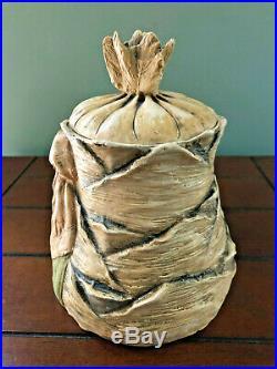 Antique Figural Camel Rider Tobacco Cigar Jar Humidor Marked 1823 Austria
