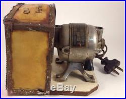Antique Rare San-I-Fa-Cient Humidifier Motor for Humidor Sanifacient Runs 1912