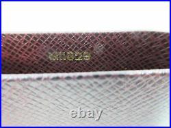 Auth N. Mint LOUIS VUITTON Taiga Cigar Case Cigarette Humidor Vintage JAPAN1282