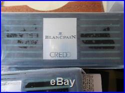 BLANCPAIN CREDO Luftbefeuchter Hygrometer. 3 Stück. (HUMIDOR Luftbefeuchter) NEU
