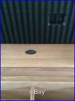 Beautiful Dunhill Humador Solid Burl Wood With Inlaid Edges (Both Keys)