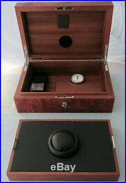 Blancpain Humidor und Uhrenbox in einem! Zigarren Box! Luxus Humidor wie neu
