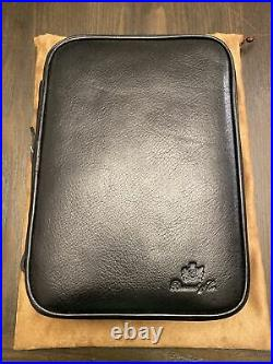 Brizard and Co. Havana Traveler Black Leather