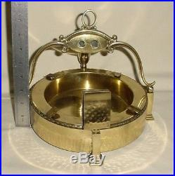 Bronze Brass Humidor Tobacco Smoking Set Cigar Cutter (2 Sizes) Ashtray Holder