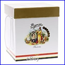 Byron 19th Century Grand Poemas Humidor Jar Exclusive Design by Nelson Alfonso