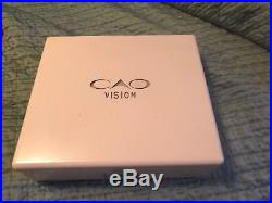 CAO WHITE with LED Light Cigar Humidore Digital Hygrometer Collector & Rare