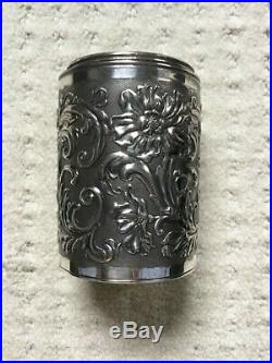 CIGAR HUMIDOR, Champagne Bottle, Pairpoint, 1893, SILVER Plate, 10 3/4 x 2 3/4