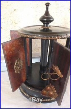 Cave à cigares musicale Napoléon III à restaurer cigar humidor