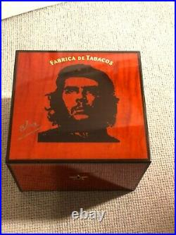 Che Robusto humidor, for 25 cigars by Elie Bleu