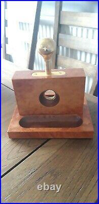 Cigar Humidor, Case and Guillotine Bundle, Vintage