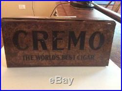 Cremo Tin Cigar Humidor