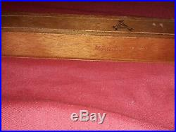 Cuban monte Cristo A Cigar Box new never used. Collectable highly sort after