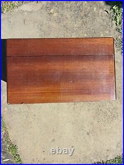 DUNHILL Wood Humidor Cigar Box 24cm x 12cm Made in Italy