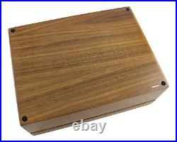 DUNHILL Wood Humidor Cigar Box 25cm x 19cm Made in Italy