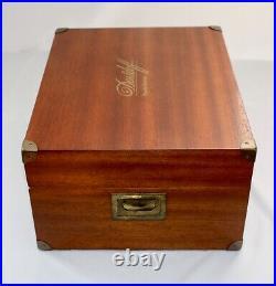 Davidoff Grande Réserve Humidor Cigar Box No 57. Mahogany. Campaign Handles. Exc