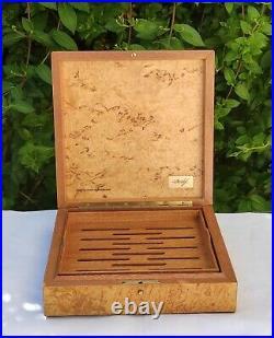 Davidoff Humidor Boite Cave a cigares Bois exotique Vintage Cigar Box