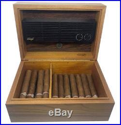 Davidoff Luxus Edelholz Zigarren Humidor Top