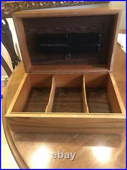 Davidoff No. 7 Matt Rosewood Cigar Humidor