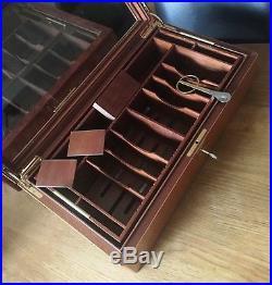 Davidoff Präsentation Humidor, inkl. Vergoldeter Davidoff Zigarrenschere, High End
