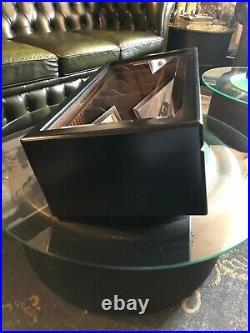 Davidoff Präsentations Humidor, inkl. Davidoff Zigarrenschere, schwarz, High End