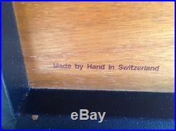 Davidoff Switzerland Leather Travel Humidor
