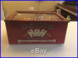 Deuce Tin Humidor/cigar Dispenser
