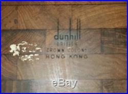 Dunhill British Crown Colony Hong Kong Humidor Mid Century Modern