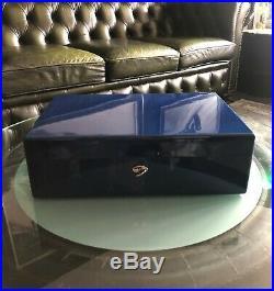 Dunhill Humidor, sehr schöner Zustand, High End, ca 100-150 Zigarren, TOP Farbe