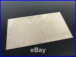 Dunhill Zigarren Kiste Humidor Klavierlack Jacques Rogge IOC Olympiade Olympia