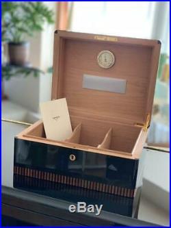 ELIE BLEU Humidor Cigar Case Cigar only Mens No damage or Dirt Used