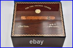 ELIE BLEU Medals Collection Humidor 50 Cigars Rosewood (Palissandre) with box
