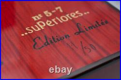 ELIE BLEU Red Sycamor Che Humidor 110 Cigars Limited Edition #11/50 with Key