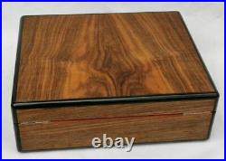 Elie Bleu Coffret Humidor Cave a cigares Bois Palisander Case box Cigars holder