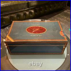 Elie Bleu Humidor, Flor de Tabacos, 120 Zigarren, wunderschön, NP über 3.000