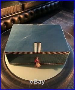 Elie Bleu Humidor der Spitzenklasse, TOP Zustand, für 200 Zigarren, NP 3900