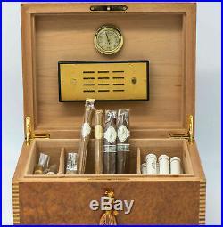 Elie Bleu Humidor for 70-100 cigars