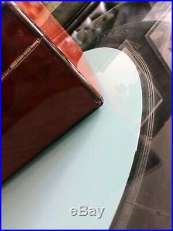 Elie Bleu Humidor, perfekt für 75-100Zigarren, schöner Zustand, ca. 30 x 24 x 13cm