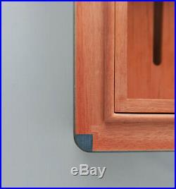 Elie Bleu Humidor sehr selten wunderbar Intarsien! Tabletier Paris! Zigarren Box