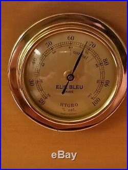 Elie Bleu Medals Yellow Sycamore Humidor 75 Count
