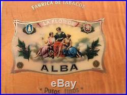 Elie Bleu Orange Flor De Alba 75 Cigar Humidor